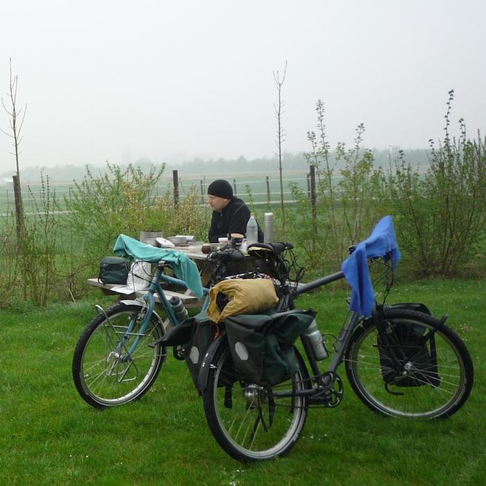 Nieuwe fietsen in gebruik
